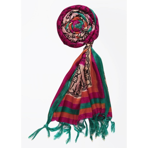 Silk Cotton Blend Printed Women's Dupatta 2