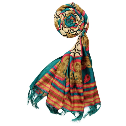 Silk Cotton Blend Printed Women's Dupatta 1