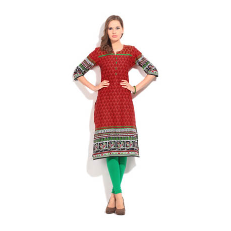 Printed Women's Kurta 2